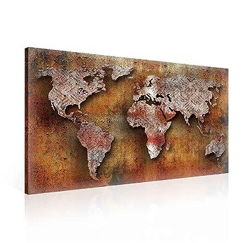 Prets A Poser Sur Toile Decoration Murale Style Industriel Metal