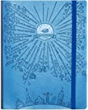 "Deluxe Law of Attraction Success Planner 2017 - Increase Productivity, Time Management, Passion & Happiness - Life & Week Planner & Gratitude Journal - B5 size Non dated (6.9"" x 9.8"") Rio Blue"