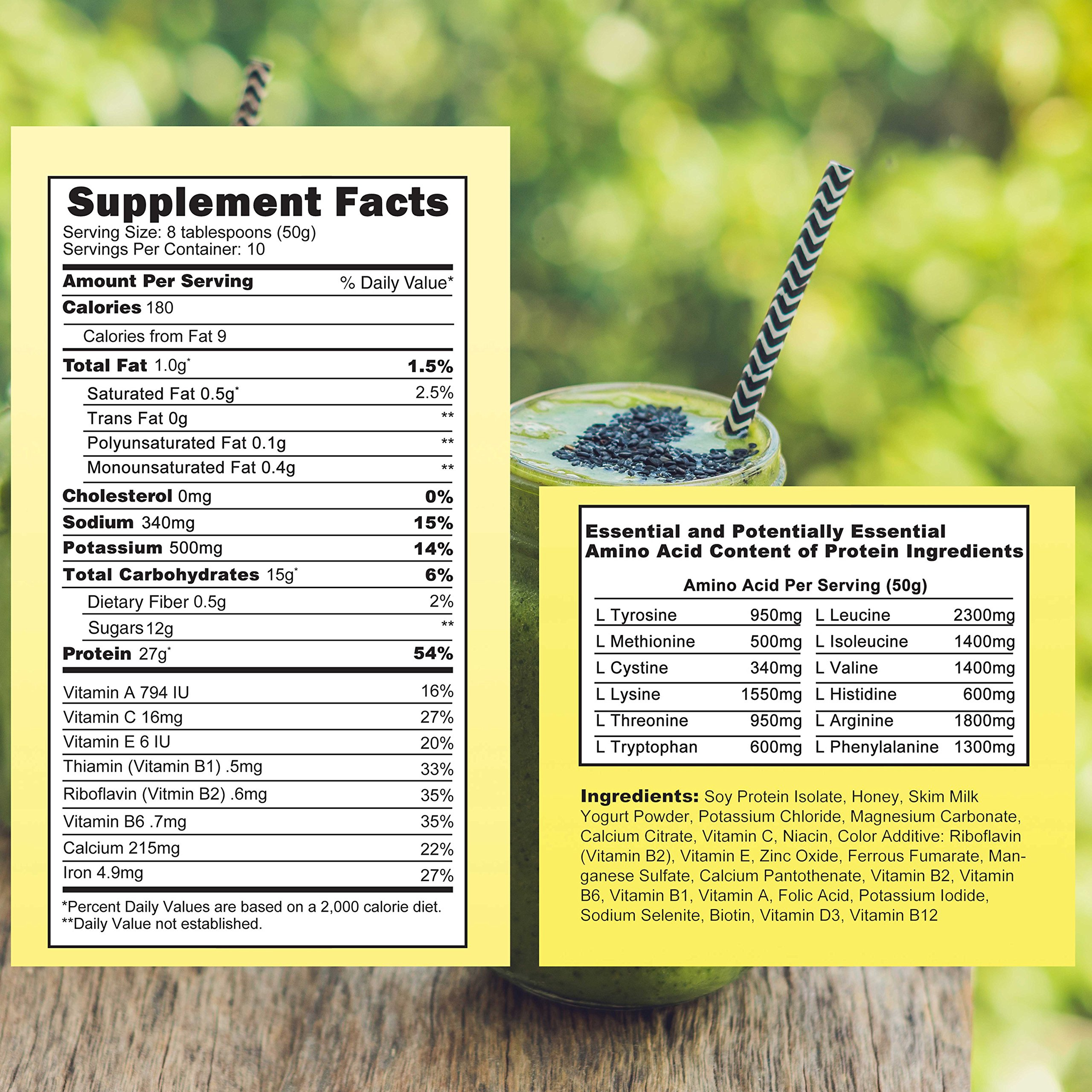 Almased Meal Replacement Shakes -Plant Based Protein Powder - Weight Management Shake and Meal Replacement - All Natural, Gluten Free, No Sugar Added (3 pack Bonus Diet Book and Stress Ball)        by Almased (Image #1)