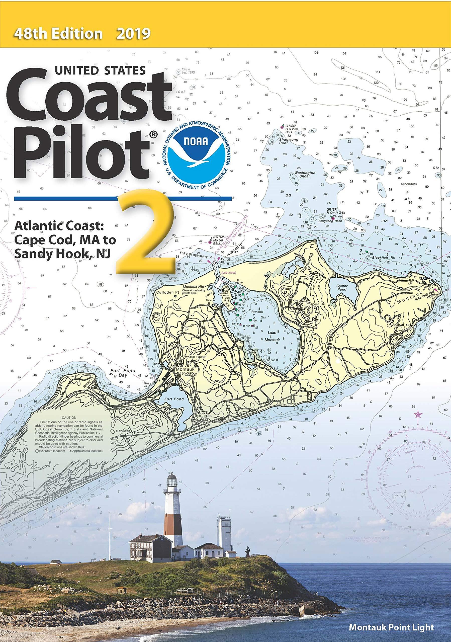 Download U.S. Coast Pilot 2: Cape Cod to Sandy Hook 2017, 46th Ed. pdf epub