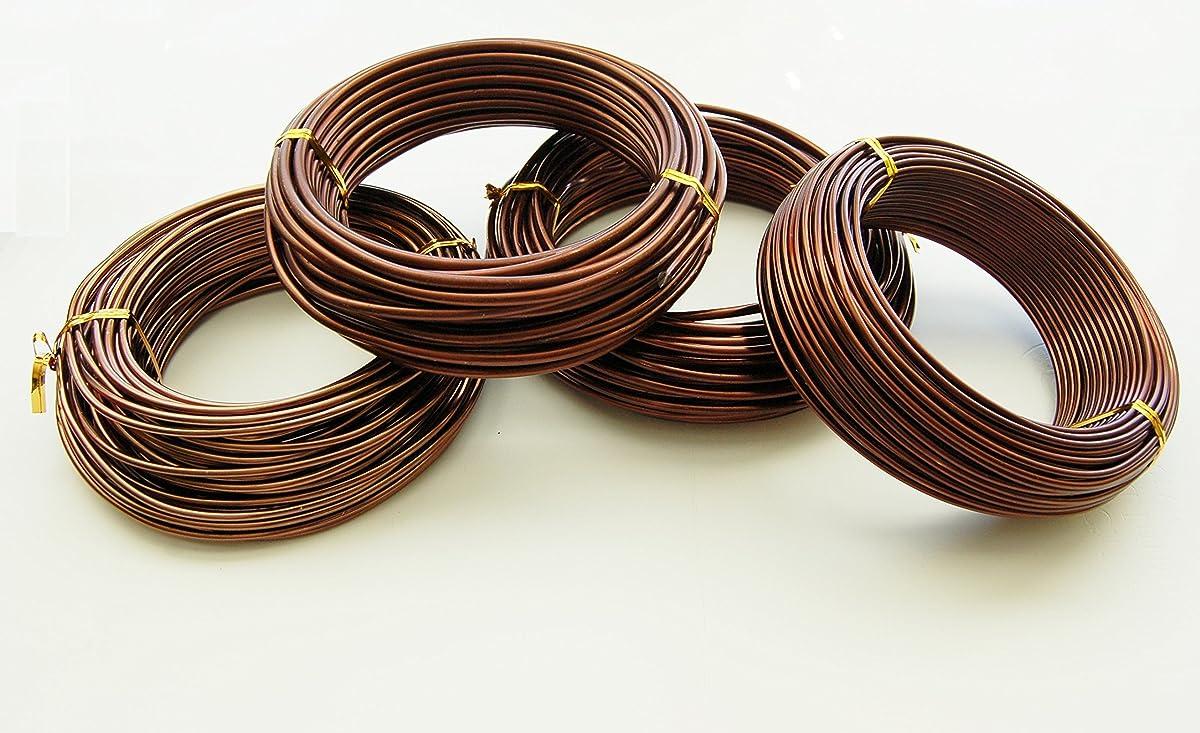 U Nitt Bonsai Tree Training Wires 250 Gram Rolls 4 Size Combo Wiring Seedlings