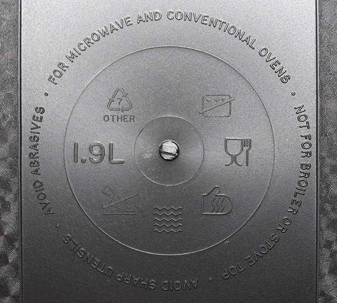 Tupperware UltraPro - Molde para pan, color gris: Amazon.es: Hogar