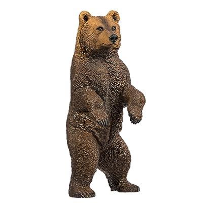 Safari S181729 Wild North American Wildlife Grizzly Bear Miniature: Toys & Games
