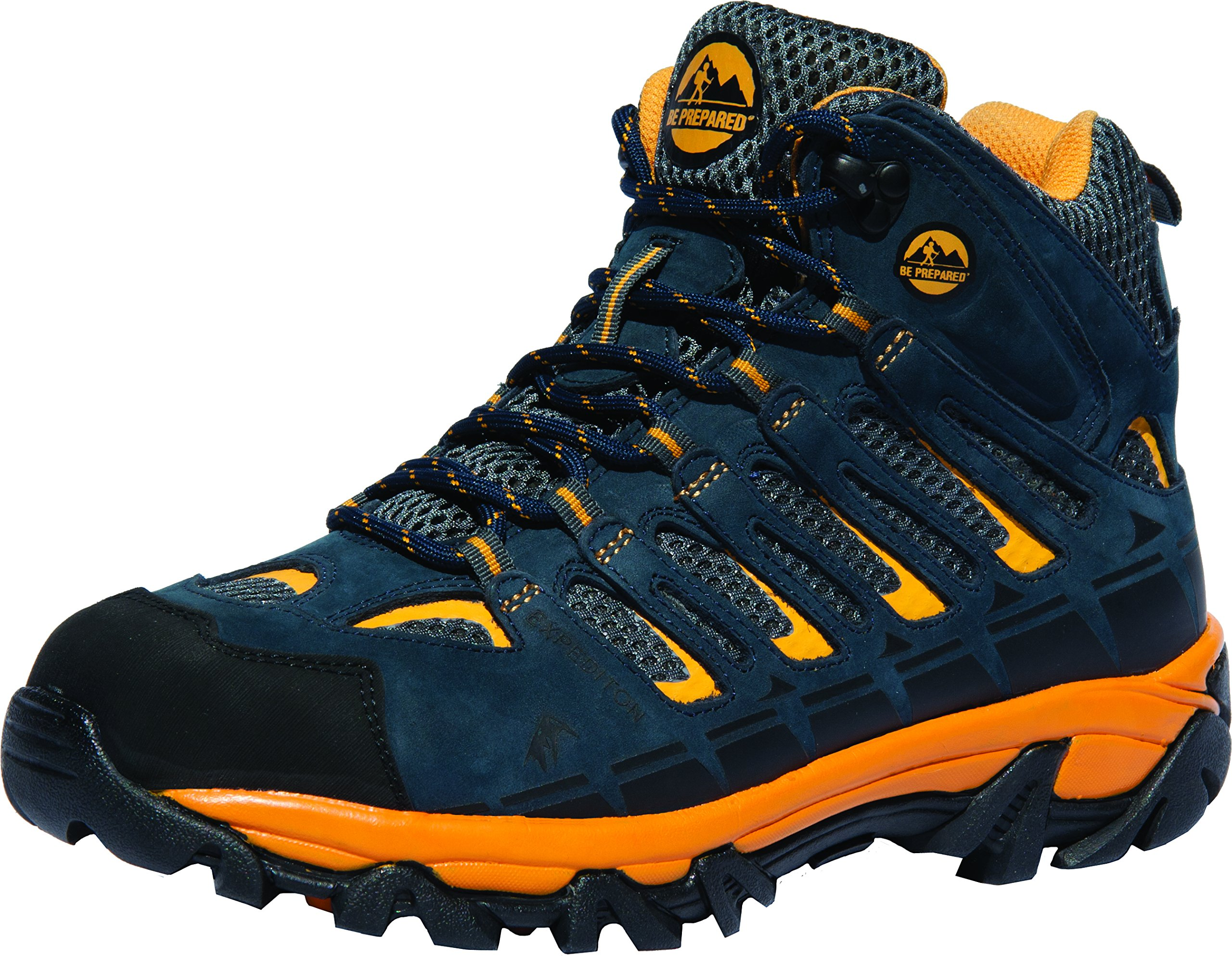Boy Scouts of America Outdoor Hiking Boots Official Expedition Pro (10, Blue) by Be Prepared