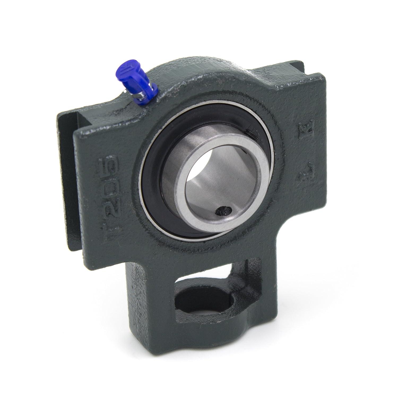 Spannkopflager UCT205, Ø 25 mm - Hauptabmessungen nach internationaler Norm RHI&A