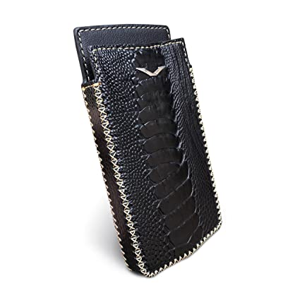 Amazon.com: Vertu Signature Touch Handmade Funda de piel de ...