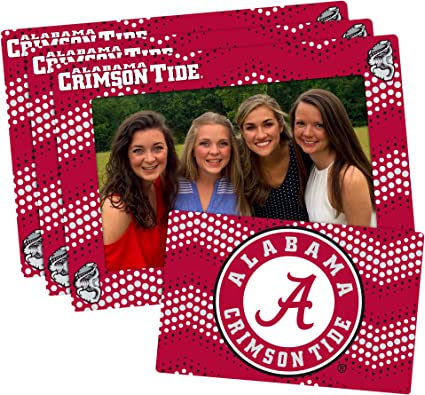 3-pack Alpha Phi 4-inch by 6-inch Magnetic Frame and Bonus Magnet