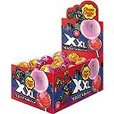 Chupa Chups XXL Bubblegum Filled Fruit Lollipops - Pack of 25 Pieces (25 x 29g)