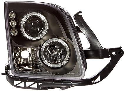 Spec-D Tuning LHP-FUS06JM-TM Ford Fusion Dual Halo Led Projector Head Lights