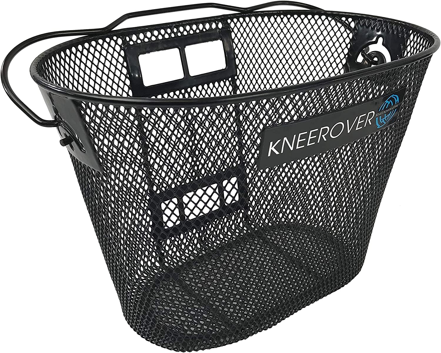 Knee Walker Basket Accessory - Replacement Part with Quick Release and Convenient Handle - INCLUDES ATTACHMENT BRACKET - Compatible with Most Knee Scooters 91S-apPVJvL