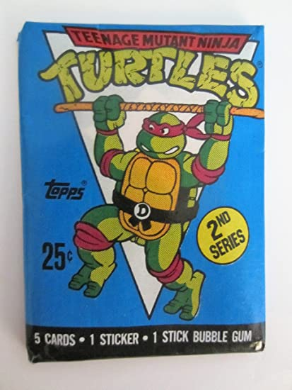 Amazon.com: 1990 Topps Teenage Mutant Ninja Turtles ...