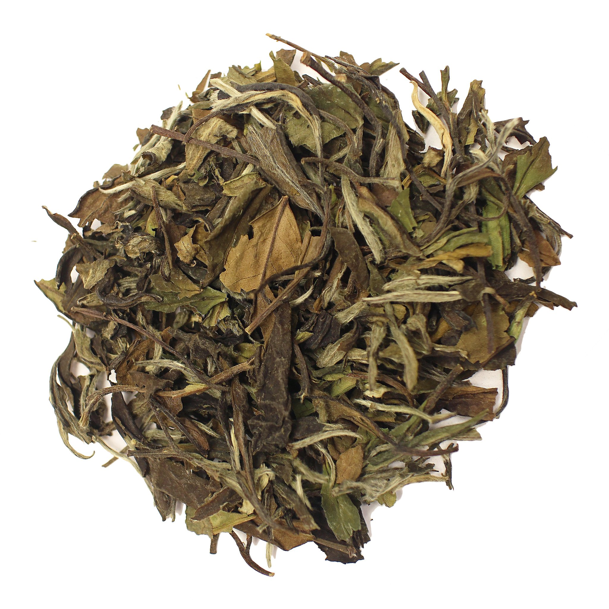 The Tea Farm - Shou Mei White Tea - Chinese Loose Leaf White Tea (16 Ounce Bag) by The Tea Farm