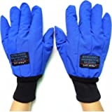 Cryogenic Gloves Waterproof Low Temperature Resistant LN2 Liquid Nitrogen Protective Gloves Cold Storage Safety Frozen…
