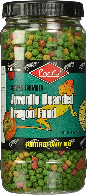 Rep-Cal Srp00812 Juvenile Bearded Dragon Pet Food, 6-Ounce
