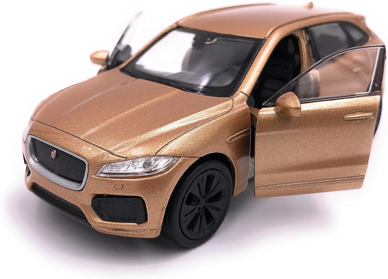 H Customs Jaguar F Pace Suv Modellauto Auto Lizenzprodukt 1 34 1 39 Gold Auto