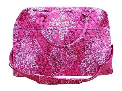 Amazon.com  Vera Bradley Weekender Carry-On Travel Bag 1fce95756e9cc
