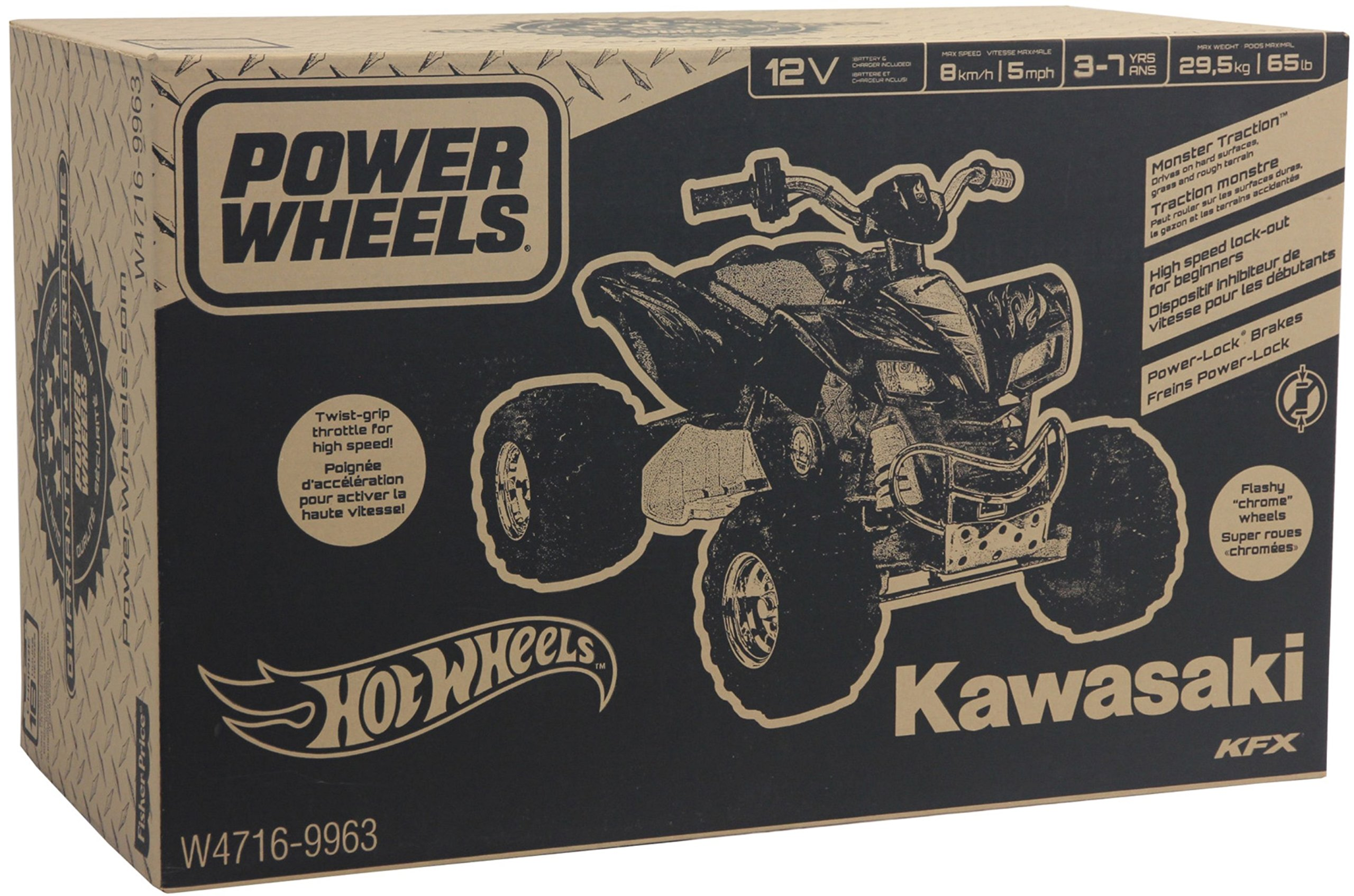 Power Wheels Hot Wheels Kawasaki KFX by Fisher-Price (Image #10)