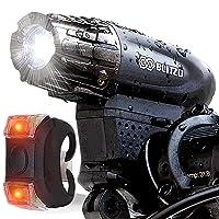 Deals on BLITZU Gator 320 USB Rechargeable Bike Light Set
