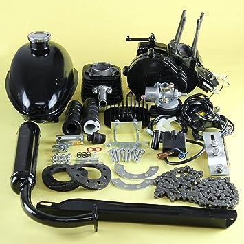 Amazon com : 80cc 2 Stroke Engine Motor Kit Motorized