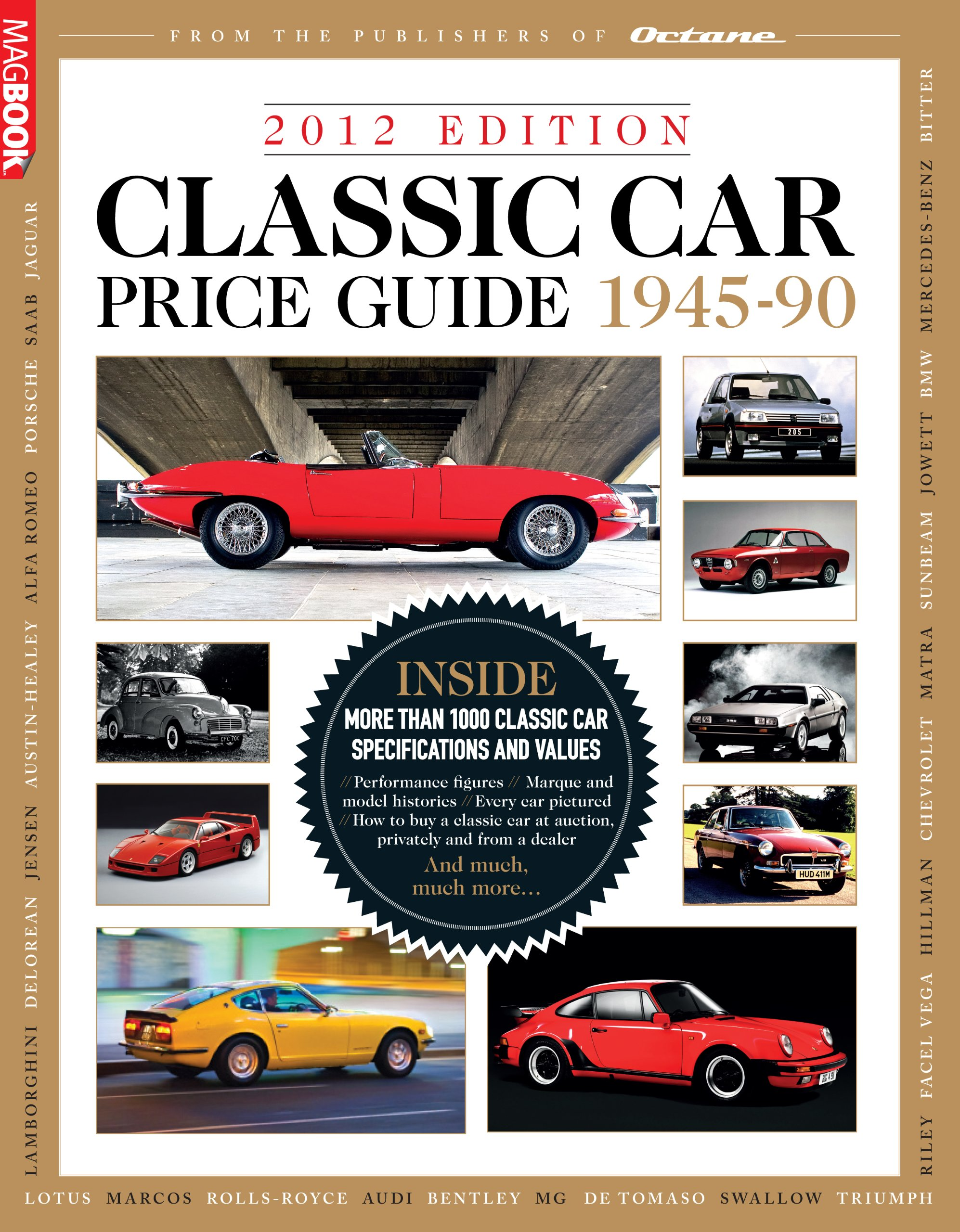 Classic Car Price Guide 2012: David Lillywhite, Octane Magazine ...
