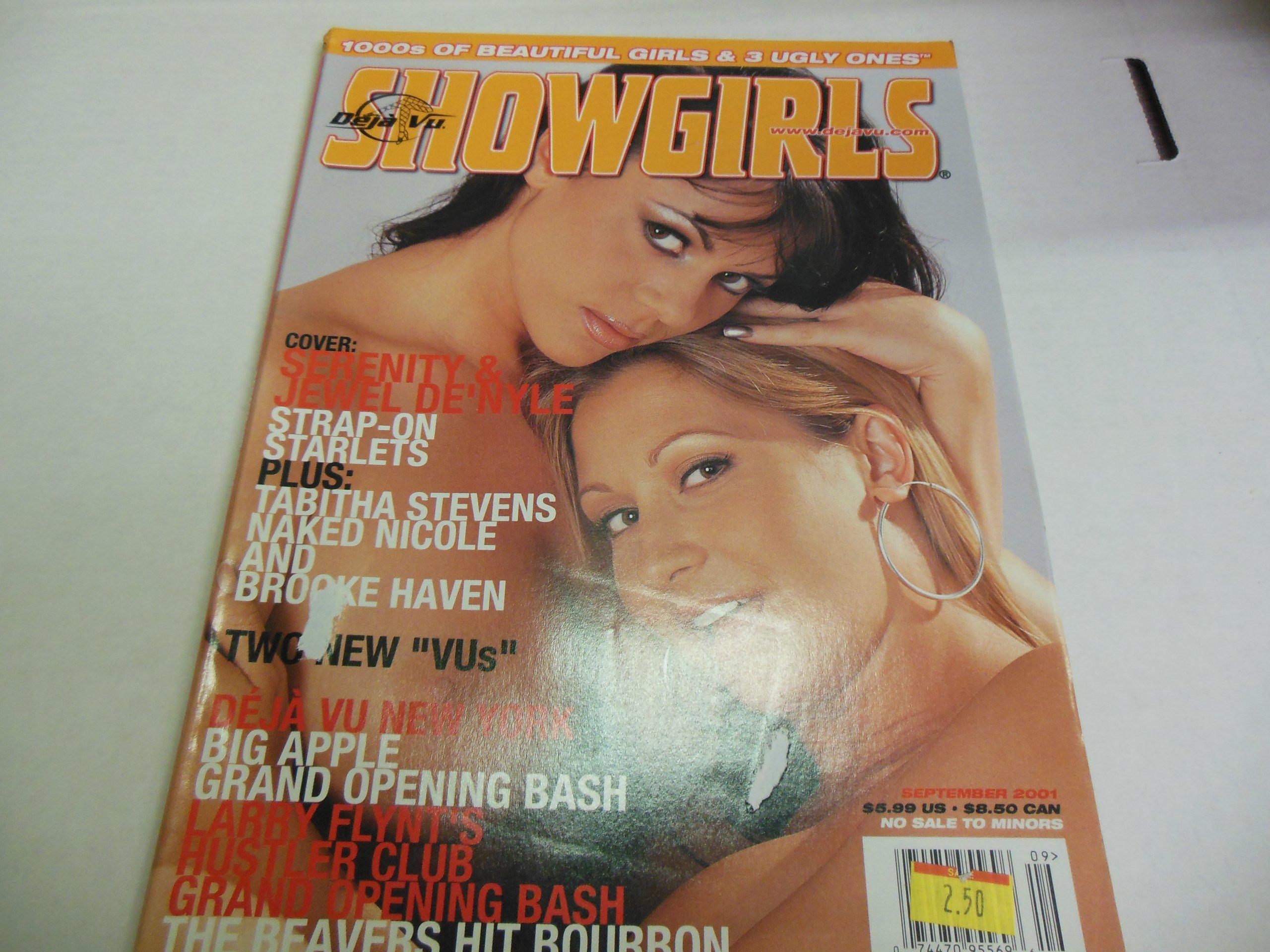 Deja Vu Showgirls Adult Magazine Serenity Jewel Denyle Tabitha Stevens September 2001 Show Girls Amazon Com Books