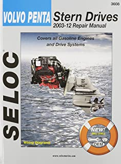 Volvo penta stern drive shop manual 2001 2004 clymer marine repair volvo penta stern drives 2003 2012 gasoline engines drive systems seloc marine fandeluxe Images