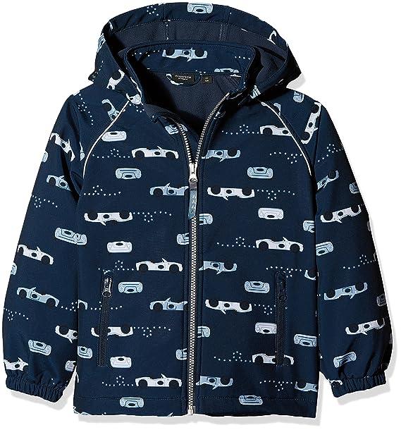 NAME IT Jungen Jacke NITALFA Softshell Jacket CAR MZ FO