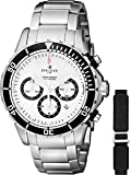 Perrelet Men's A1054/A Seacraft Analog Display Swiss Automatic Silver Watch