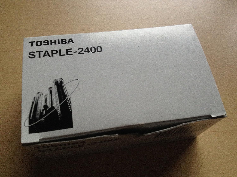 Genuine Toshiba STAPLE-2400 (STAPLE 2400) Staple Cartridge, Box of 3 by Toshiba