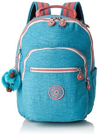 Amazon.com | kipling SEOUL GO S Small Backpack Bright Aqua C | Casual Daypacks