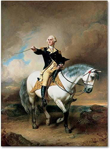 Portrait of George Washington Artwork