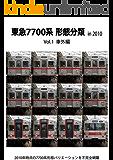 東急7700系形態分類 in 2010 Vol.1 車外編