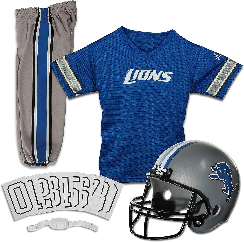 Franklin Sports NFL Kids Football Uniform Set - NFL Youth Football Costume for Boys & Girls - Set Includes Helmet, Jersey & Pants
