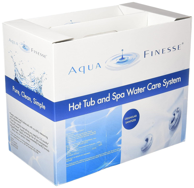 Amazon.com : AquaFinesse Hot Tube Water Care Kit - Dichlor (Powder ...