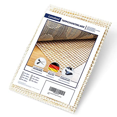 B.PRIME 180x300cm Antirutschmatte Premium I Teppichunterlage I Teppichunterleger I Teppichunterlage I Rutschschutz f/ür Teppich