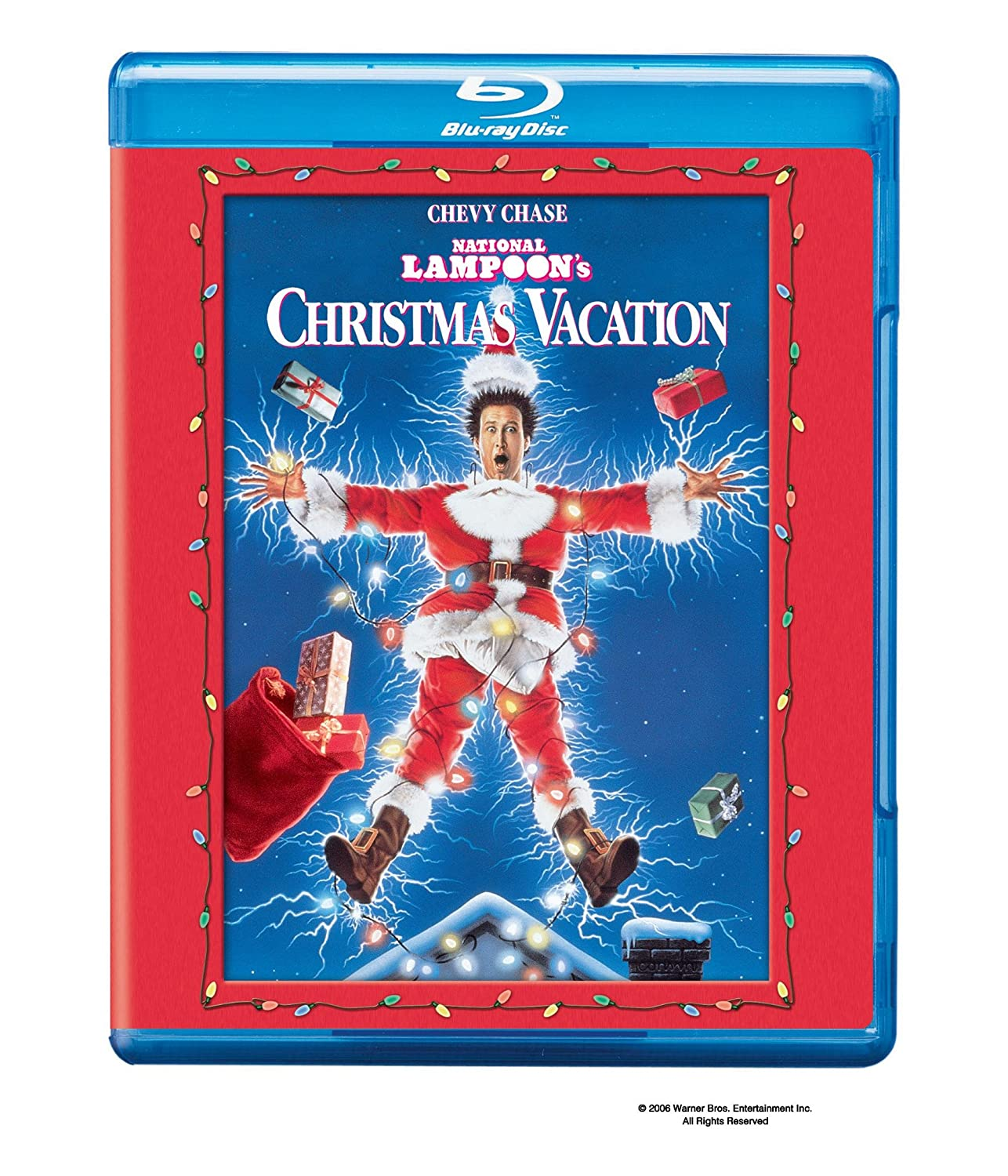 National Lampoon's Christmas Vacation [Blu-ray] Chevy Chase Beverly D' angelo Juliette Lewis Randy Quaid