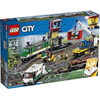 LEGO City Cargo Train 60198 Remote Control Train Building Set with Tracks for Kids, Top Present and Christmas Gift for…