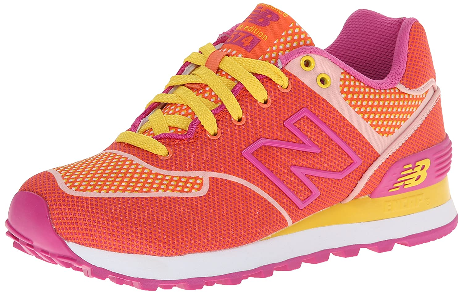 New Balance Woherren WL574 Woven Collection Running schuhe