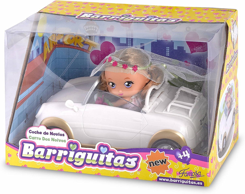 Amazon.es: Barriguitas - Coche de Novios (Famosa 700012099): Juguetes y juegos