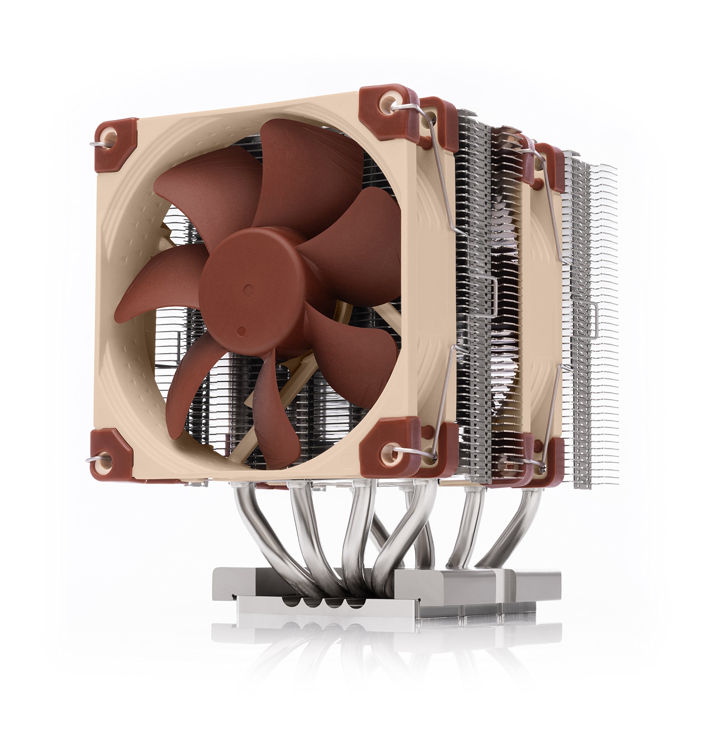 NOCTUA NH-D9 DX-3647 4U, Premium CPU Cooler for Intel Xeon LGA3647 (Brown) by NOCTUA
