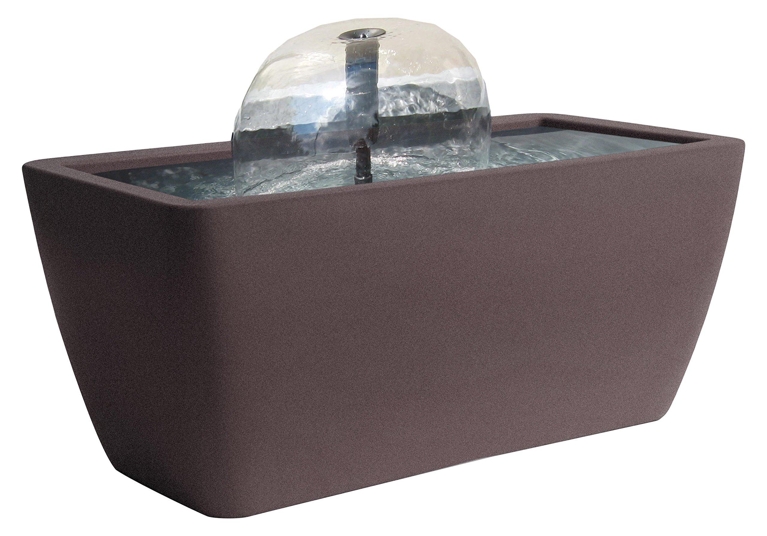 Algreen 35311 Manhattan Pond Kit Fountain, Brownstone