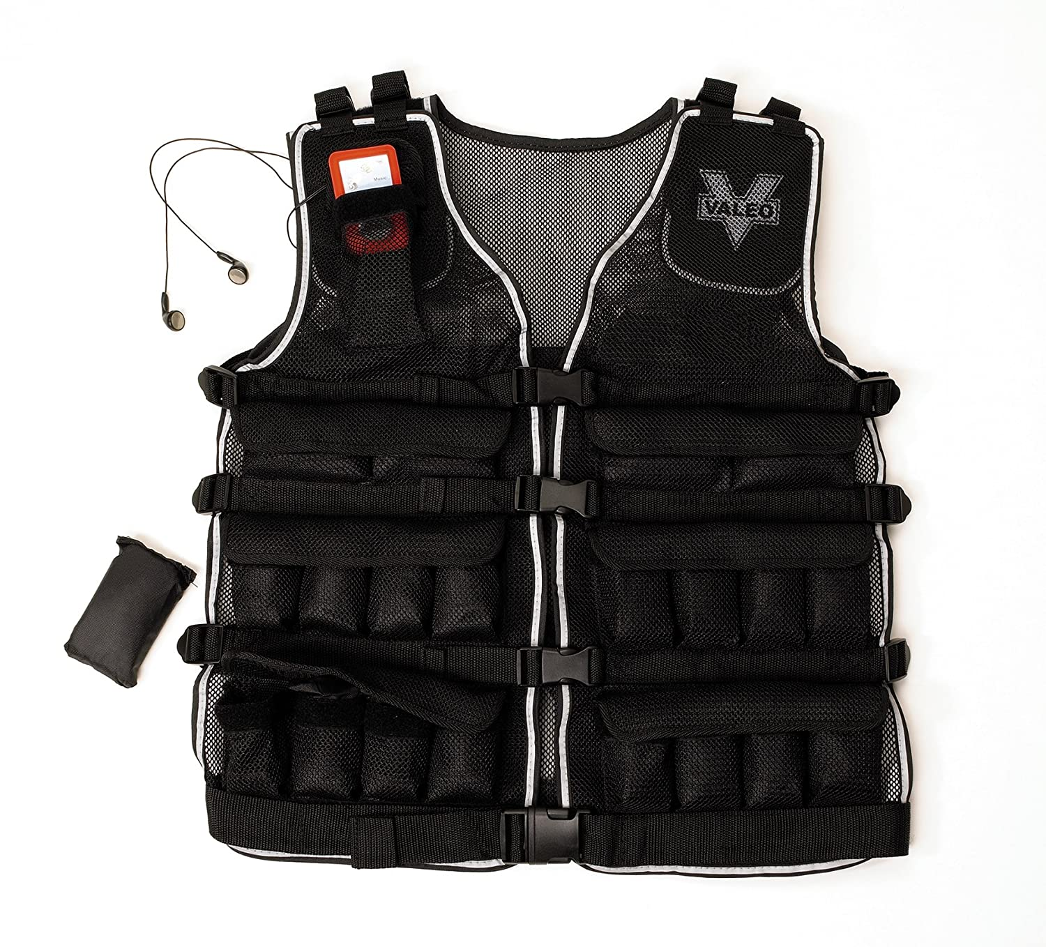 Amazon Valeo 20 Pound Weighted Vest With Removable 1 Pound