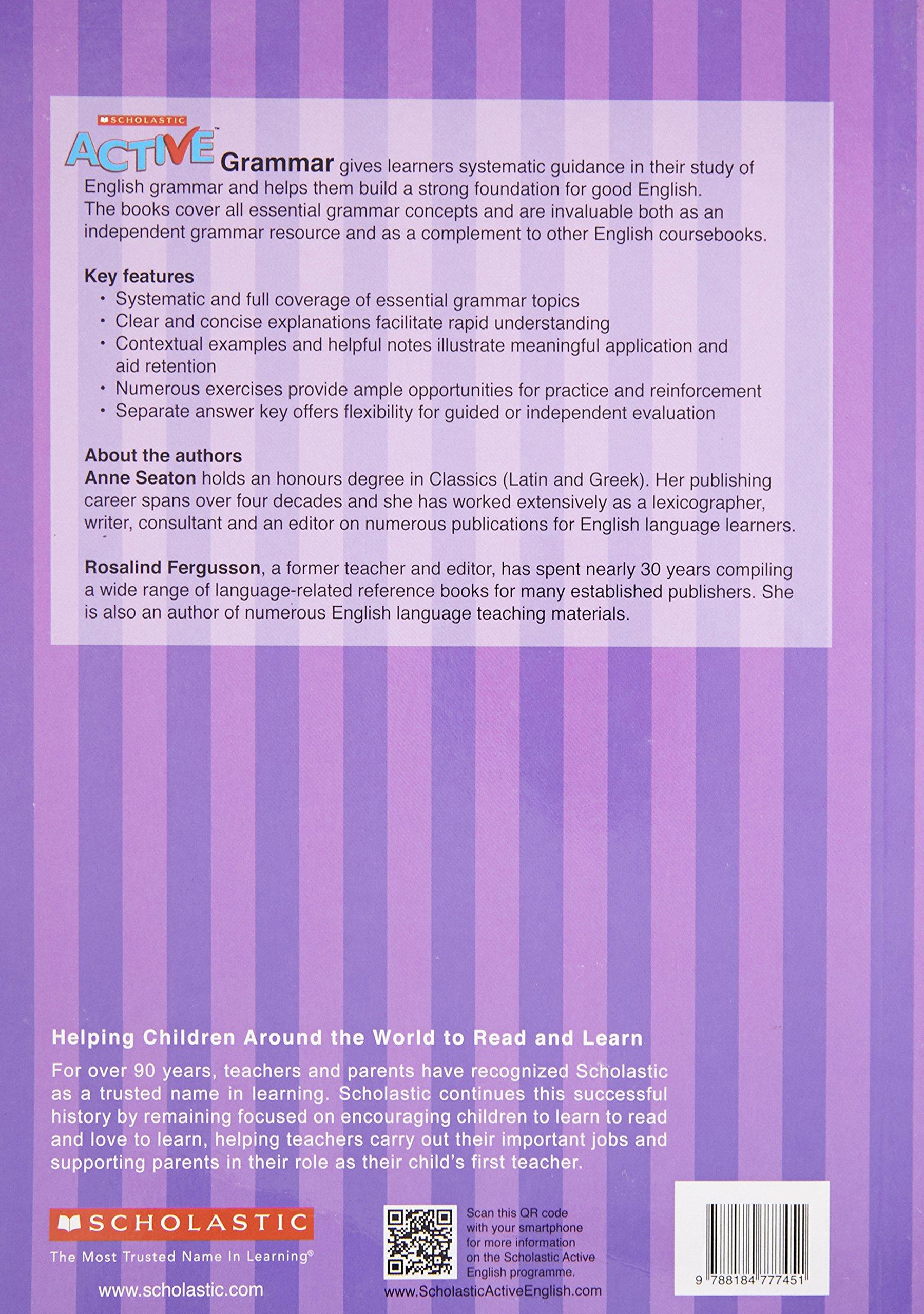 Active Grammar For Class 9 And 10 Scholastic 9788184777451 Amazon Com Books