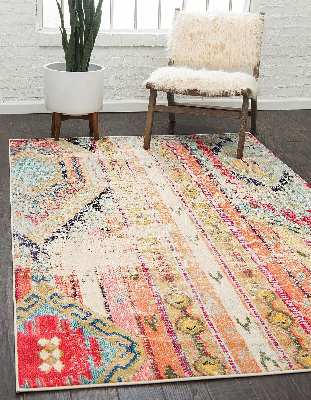Unique Loom Popular products Sedona Distressed Max 40% OFF Southwestern Area Feet 12 Rug 9 x