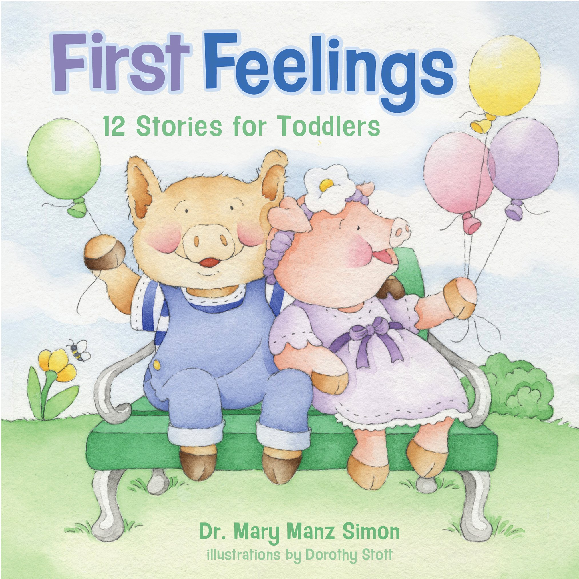 Download First Feelings (padded cover): Twelve Stories for Toddlers pdf