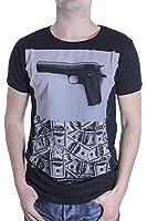 Japan Rags HGANGHETTO000MC - T-shirt - Imprimé - Manches courtes - Homme