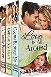 Love is All Around (Box Set of Three Contemporary Romances)