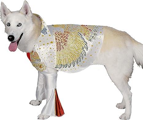 Rubies Disfraz de Elvis Presley para Mascotas: Amazon.es ...