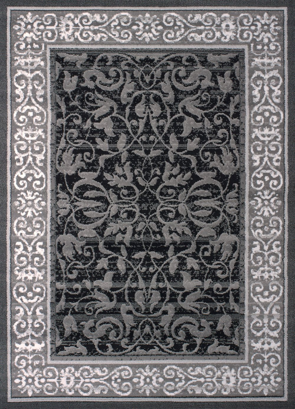 United Weavers of America Dallas Baroness Rug, 8 x 10', Grey