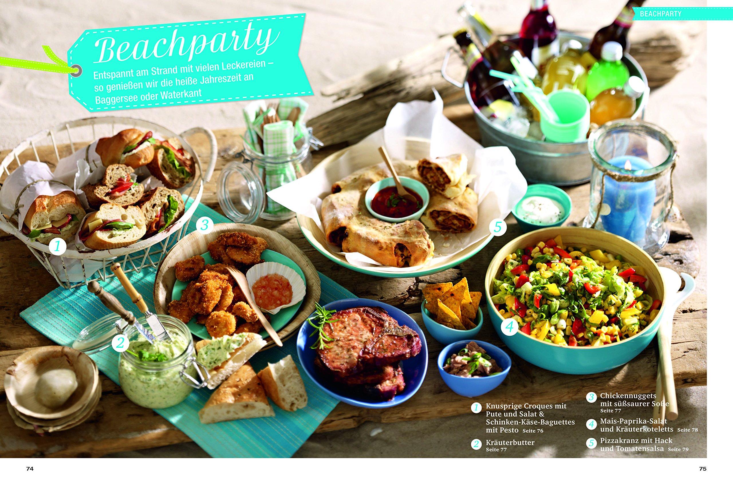 Sommerküche Ohne Kochen : Kochen genießen sommerküche grillen picknick gartenfest und